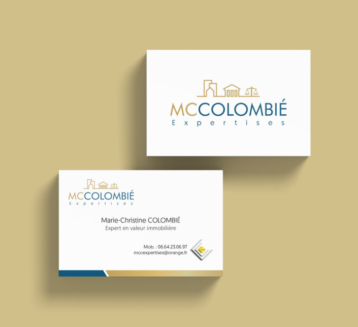 creation logo expertise immobiliere