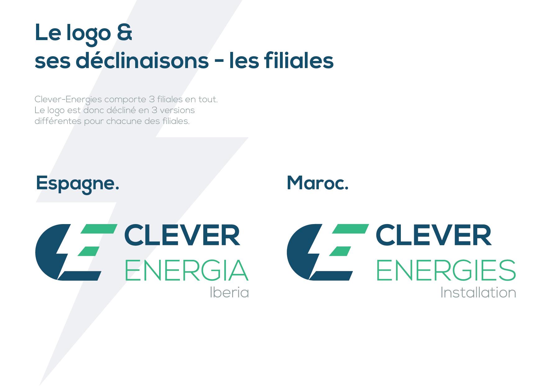 declinaison logo clever energies reims