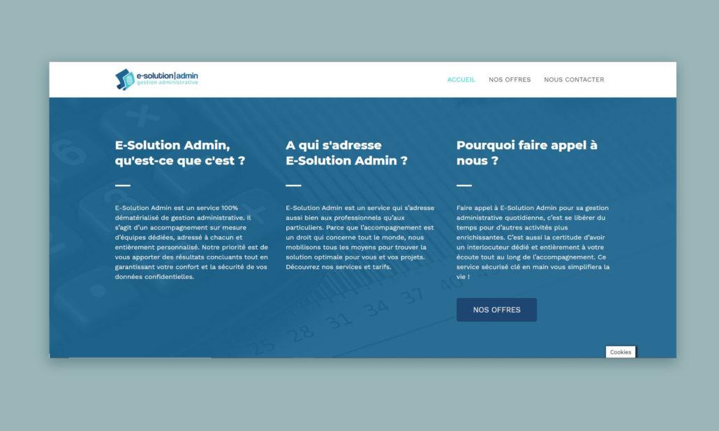 web design e-solution admin perpignan